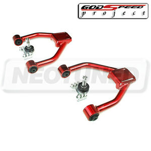 For Lexus IS250 / IS350 2006-13 Godspeed Adjustable Front Upper Camber Arm KIt