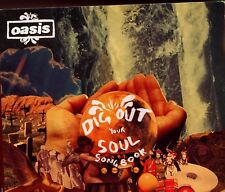 Oasis / Dig Out Your Soul Songbook Promo PC CD Rom - Gatefold