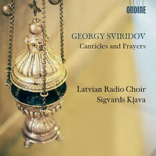 Georgy Sviridov : Sviridov: Canticles and Prayers CD (2018) ***NEW***