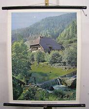 School Mural Wall Art Picture Black Forest House GUTACHTAL Horn Mountain Mountain Hotel 55x71