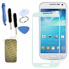 White Outer Replacement LCD Screen Glass Lens Tools For Samsung Galaxy S4 Mini