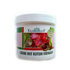 KRAUTERHOF- Foot Cream for Varicose Veins -horse chestnut-red vine leaves-250ml
