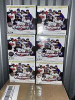 2020 Topps Chrome Update Series (Lot Of 6) Baseball Mega Box Target Exclusive