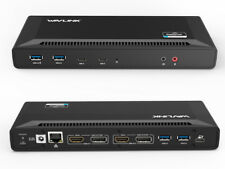 USB-C Power delivery Docking Station,5K/Dual 4K Video Docks&65W PD Charging Dock
