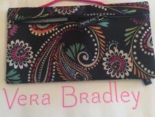 Vera Bradley Lighten Up Pencil Pouch Bandana Swirl Makeup Cosmetic Case