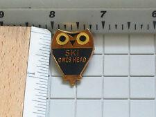 Ski Owls Head Skiing Pin (Ski#1051)