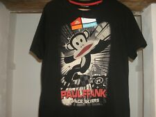 "Paul Frank Medium Men`s T-Shirt ""Space skaters"" In Black- NEW With Tags!!!"