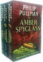 His Dark Materials Series Philip Pullman 3 Books Collection Set Pack PB NEW