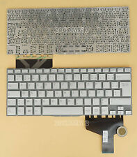 NEW for SONY VAIO Fit 13A multi-flip PC SVF13N KEYBOARD Silver French Clavier