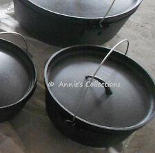 Cast iron Dutch Oven 10 QT Camping Cookware Wilderness Survival