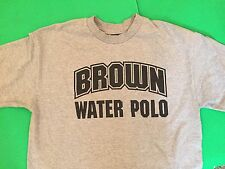 BROWN UNIVERSITY BEARS WATER POLO TEAM NCAA VINTAGE LARGE ADIDAS T-SHIRT