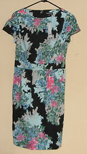 Warehouse Tropical Print Dress Size  UK 10   United States  6-8         NWT.