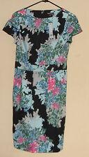 Warehouse Tropical Print Dress Size  UK 10   United States  6-8         NWT.