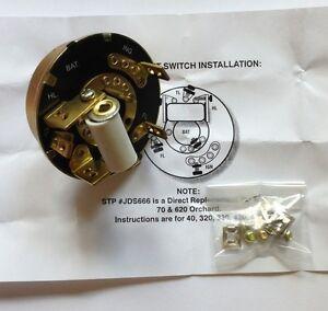 Ignition/Light Switch for OLIVER Super 66,66,77,Super 77,Super 88, 88