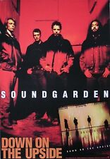 Soundgarden 1996 Down On The Upside Chris Cornell Red Promo Poster Original