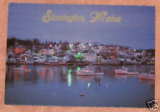 Stonington, Maine Postcard