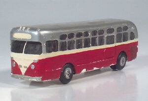 Vintage GM Yellow Coach Old Look 1940s1950s City Transit Bus 1:87 HO Scale Model