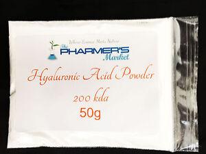 200 kDA LMW Hyaluronic Acid Powder Low Molecular Weight Cosmetic & Food Grade