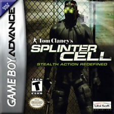 Splinter Cell GBA New Game Boy