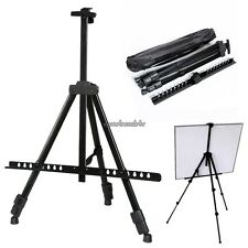 Black Painting Easel Tripod Stand with Bag Great for Painting Sketching Cheap!