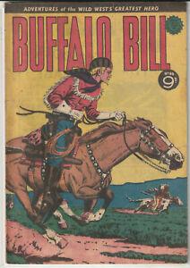 Australian Western Comic: Buffalo Bill #46 Transport Publishing 1954