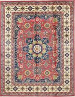 Kazak Oriental Carpet NEW 9x12 Wool Hand-Knotted Home Decor Geometric Area Rug
