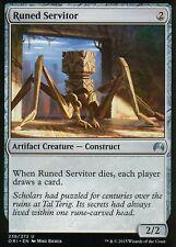4x runed servitor | nm/m | Magic Origins | mtg