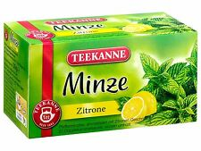 Teekanne Mint Tea with LEMON - 20 tea bags- Made in Germany
