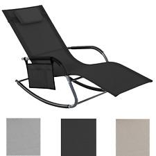 Sonnenliege Schaukelstuhl Liegestuhl Gartenliege Relaxliege bis 150 kg belastbar