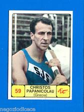 Figurina/Sticker CAMPIONI DELLO SPORT 1968/69 n. 59 - PAPANICOLAU - GRECIA -rec