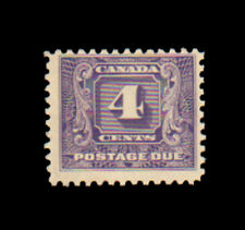 Canada J8 Postage Due Never Hinged MNH