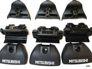 3 Thule Rapid Podium Feet Mitsubishi 8526135001