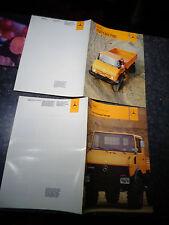 Ancien Catalogue CAMION 4x4 MERCEDES UNIMOG CONCEPT