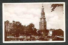 Amsterdam  Oude Schans met Montelbaanstoren