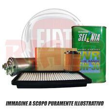 Kit Tagliando 3 L Selenia WR PE 5w30+filtri Fiat Panda 1.3 D Multijet 75 cv 312_