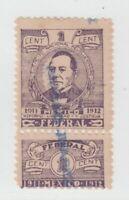 Mexico Cinderella revenue fiscal Stamp 10-7-24