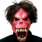 Halloween Mask Demon Reaper Blue or Red Rubber Mask