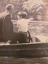 John F. Kennedy Jr., Full Page Vintage Pinup
