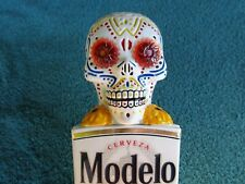 BEAUTIFUL MODELO DAY OF THE DEAD(MOTION) beer tap handle (blinking eyes) (new)