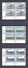FALKLAND ISLANDS 2008 SG 1096/107 MNH Blocks of 4 Cat £192