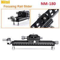 New NiSi NM-180 Macro Photography Focusing Rail Slider 1/4 Screw for DSLR Camera
