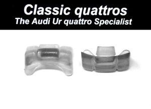 2  SEAT CENTRE GUIDE PIECES AUDI UR QUATTRO TURBO COUPE/COUPE B2 200/100/90/80