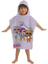 LOL Surprise Hooded Poncho Beach Bath Holiday Sun Protect Cover Girls Kids Pink
