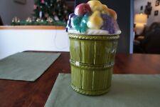 McCoy 3720 Fruit Basket Cookie Jar