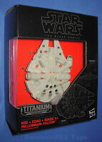 Star Wars MILLENNIUM FALCON 01 Titanium Series The Force Awakens   Black Series