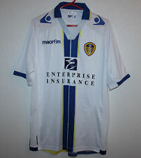 Leeds United England home shirt 13/14 Macron