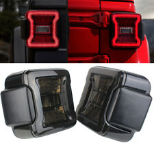 Eagle Lights Smoked LED Tail Lights for 2018+ Jeep Wrangler JL JLU Models
