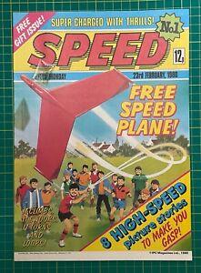 Speed Comic - 23rd Feb 1980 - Issue 1 - Ref C145