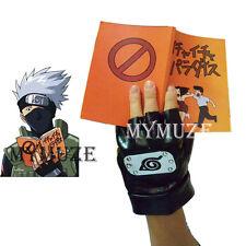 Naruto Kakashi Hatake Cosplay Gloves and Icha Icha Make out Paradise Book