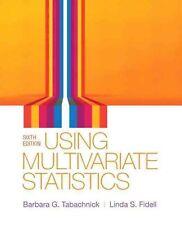 Using Multivariate Statistics 6th Int'l Edition